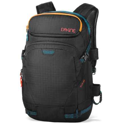 DaKine Heli Pro Snowsport Backpack - 20L (For Women) in Black Ripstop - Closeouts