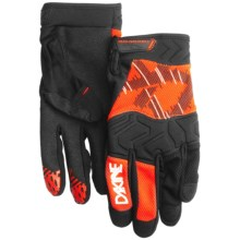 DaKine Highwire Cycling Gloves (For Men) in Orange - Closeouts