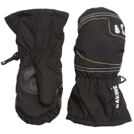 DaKine Hornet Mittens - Insulated (For Toddlers) in Black - Closeouts