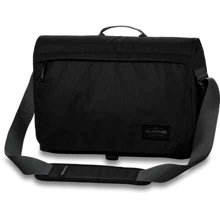 DaKine Hudson Messenger Bag - 20L, Laptop Sleeve (For Men) in Black - Closeouts