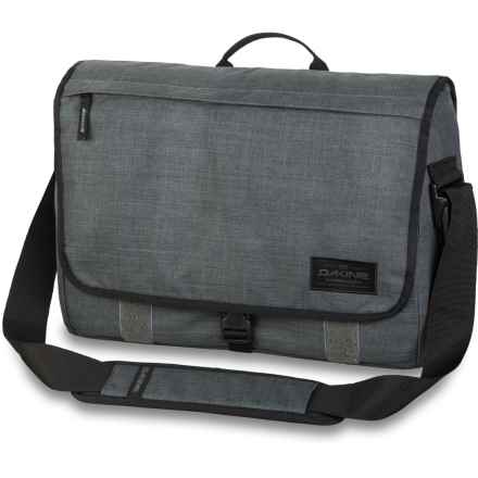 DaKine Hudson Messenger Bag - 20L, Laptop Sleeve (For Men) in Carbon - Closeouts
