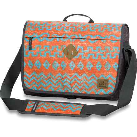 DaKine Hudson Messenger Bag - 20L, Laptop Sleeve (For Men) in Indio - Closeouts