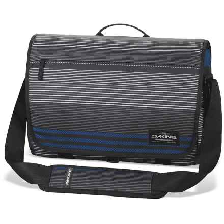 DaKine Hudson Messenger Bag - 20L, Laptop Sleeve (For Men) in Skyway - Closeouts