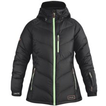 DaKine Kensington Down Jacket - 650 Fill Power (For Women) in Black/Green - Closeouts