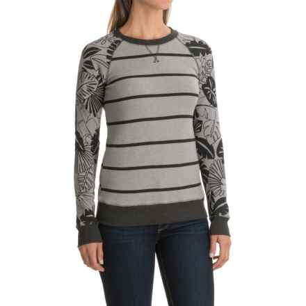 DaKine Laurel Sweatshirt (For Women) in Griffin Inkwell Palm - Closeouts