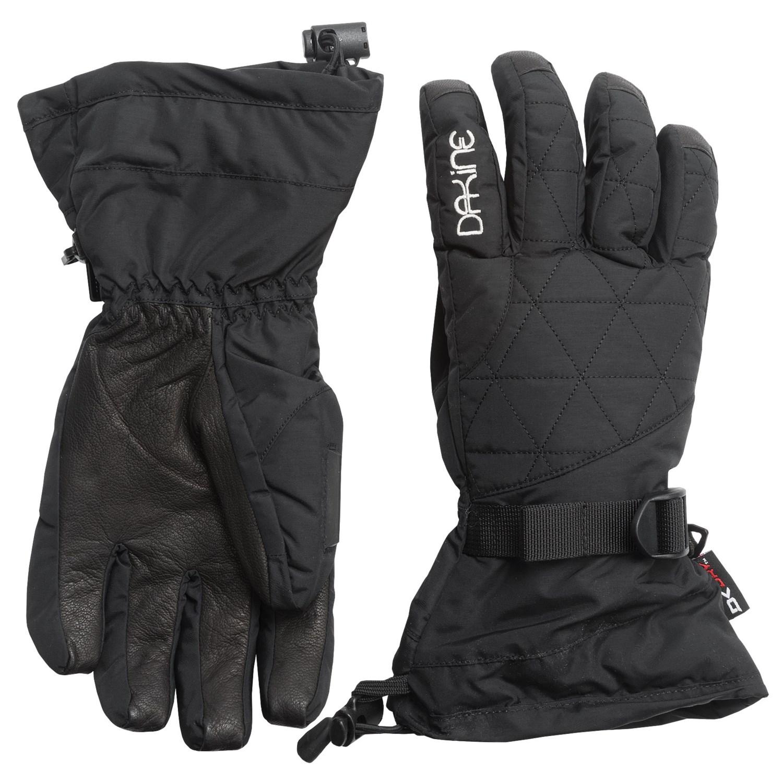 Womens leather ski gloves -  Dakine Ski Gloves Womens Gloves