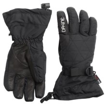 DaKine Leather Camino Gloves - Waterproof, Insulated (For Women) in Black - Closeouts