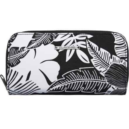 DaKine Lumen Wallet (For Women) in Hibiscus Palm Canvas - Closeouts
