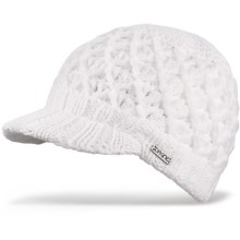 DaKine Lux Knit Beanie Hat (For Women) in White - Closeouts