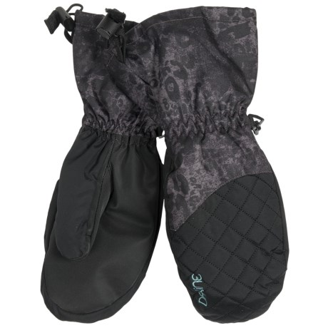 DaKine Lynx Mittens - Insulated (For Women) in Leopard