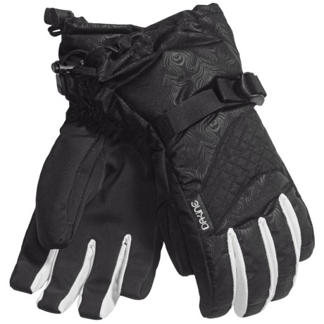 DaKine Lynx Weathershield Gloves - Insulated (For Women) in Black Emboss