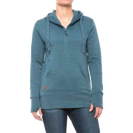 DaKine Meadow Hoodie - Zip Neck (For Women) in Chill Blue - Closeouts