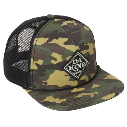 DaKine Mesh Back Trucker Hat (For Men) in Classic Diamond Camo - Closeouts