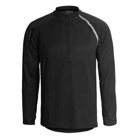 DaKine Momentum Cycling Jersey - Zip Neck, Long Sleeve (For Men) in Black - Closeouts