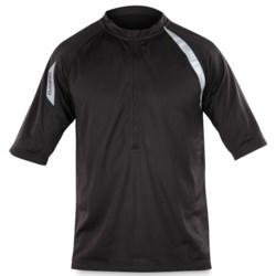 DaKine Momentum Cycling Jersey - Zip Neck, Short Sleeve (For Men) in Black