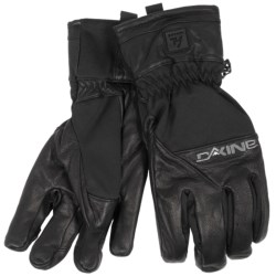 DaKine Navigator Gloves - Leather, Insulated (For Men) in Black