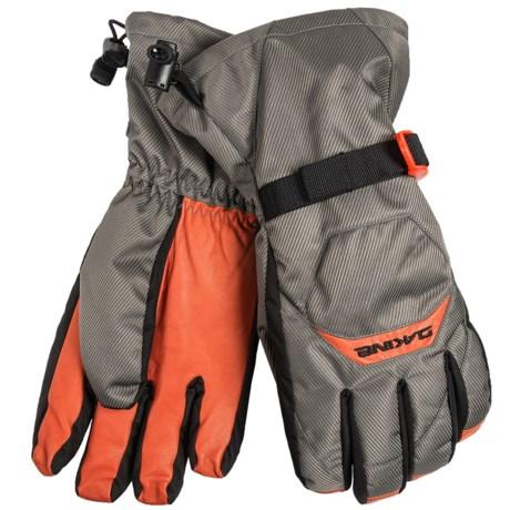 DaKine Nova Gloves - Waterproof, Insulated (For Men) in Charcoal