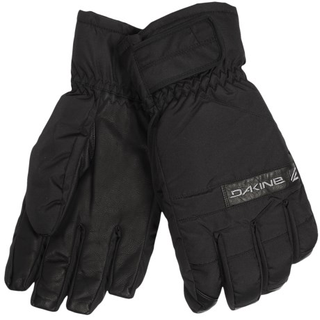 DaKine Nova Short Gloves - Waterproof, Insulated (For Men) in Black