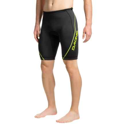 DaKine Outrigger Padded Shorts - UPF 50+ (For Men) in Black - Closeouts