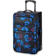 DaKine Over Under Rolling Suitcase - 49L in Bluflowers - Closeouts