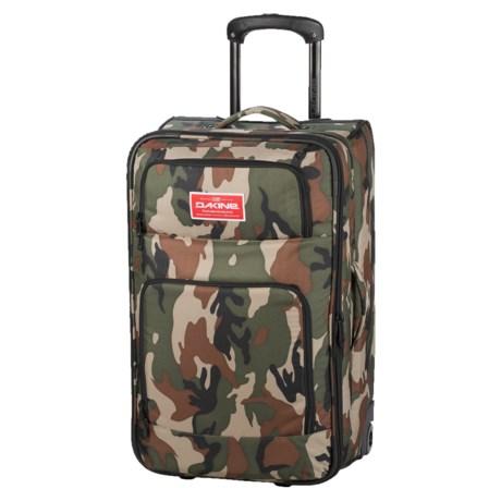 DaKine Over Under Rolling Suitcase - 49L in Camo
