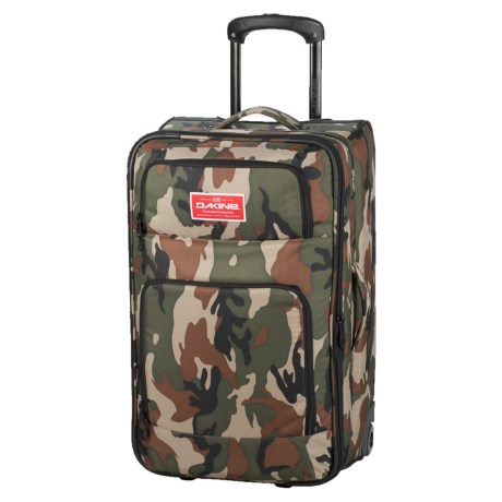 DaKine Over Under Rolling Suitcase - 49L in Camo