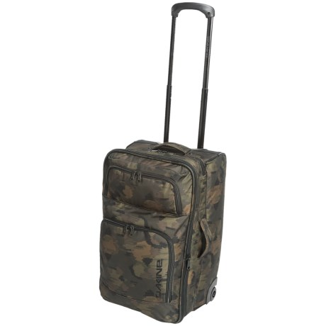 DaKine Over Under Rolling Suitcase - 49L in Marker Camo