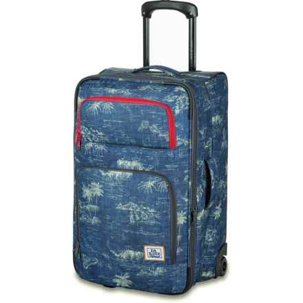 DaKine Over Under Rolling Suitcase - 49L in Tradewinds - Closeouts