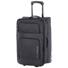 DaKine Over Under Suitcase - Wheeled in Black Stripes - Closeouts