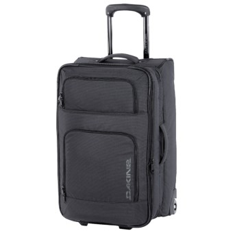 DaKine Over Under Suitcase - Wheeled in Black Stripes