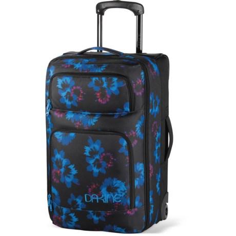 DaKine Overhead Rolling Suitcase in Bluflowers