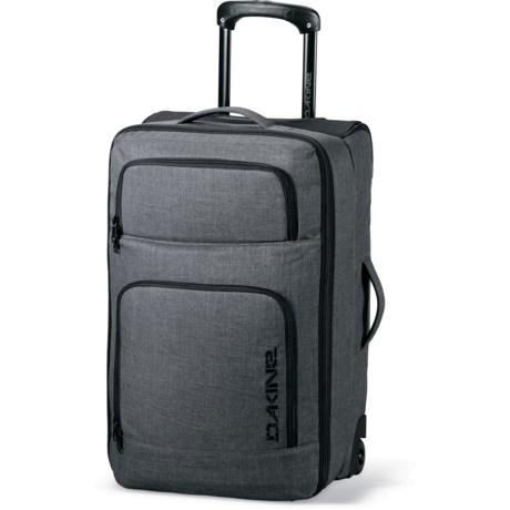 DaKine Overhead Rolling Suitcase in Carbon