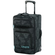 DaKine Overhead Suitcase - Wheeled in Flourish - Closeouts