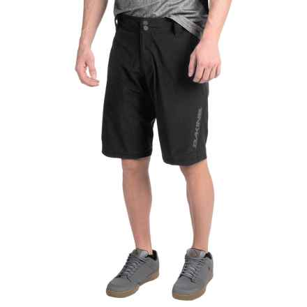 DaKine Pace Bike Shorts - Unlined (For Men) in Black - Closeouts