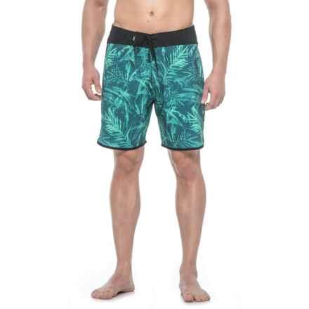 DaKine Palm Reader Boardshorts (For Men) in Aqua Green - Closeouts