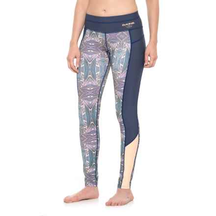 DaKine Persuasive Surf Leggings - UPF 50 (For Women) in Furrow - Closeouts