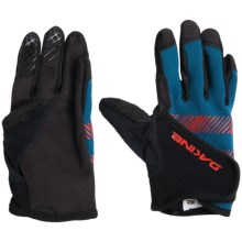 DaKine Prodigy Bike Gloves - Touchscreen Compatible (For Big Kids) in Blue - Closeouts