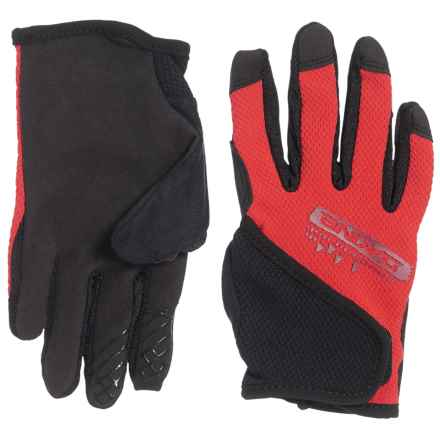 DaKine Prodigy Bike Gloves - Touchscreen Compatible (For Big Kids) in Poppy - Closeouts