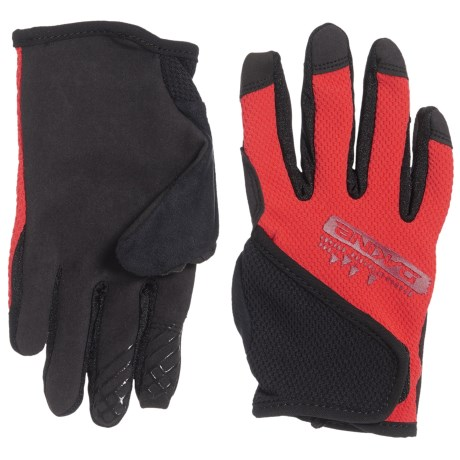 DaKine Prodigy Bike Gloves - Touchscreen Compatible (For Big Kids) in Poppy