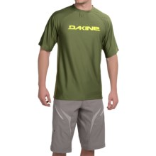 DaKine Rail Cycling Jersey - Short Sleeve (For Men) in Cypress - Closeouts