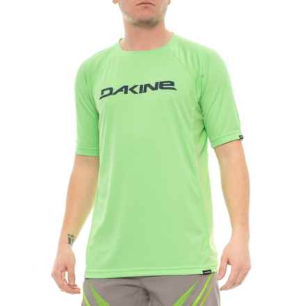 DaKine Rail Cycling Jersey - Short Sleeve (For Men) in Summergree - Closeouts