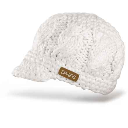 DaKine Remix Beanie Hat - Fully Lined (For Women) in White - Closeouts
