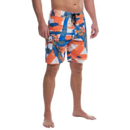 DaKine Riot Boardshorts (For Men) in Orange Paint - Closeouts
