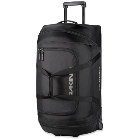DaKine Rolling Duffel Bag - Large in Black