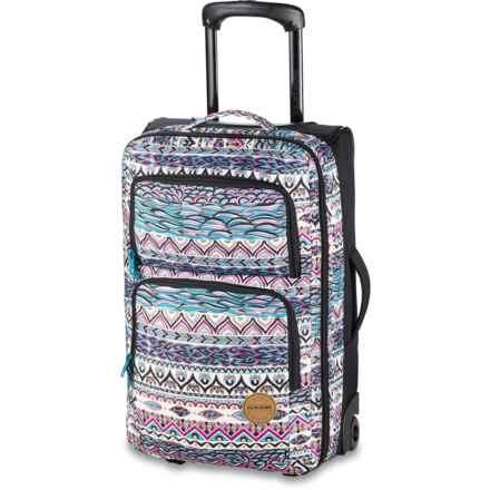 """DaKine Rolling Suitcase - 20"""", Carry-On in Rhapsody Ii - Closeouts"""