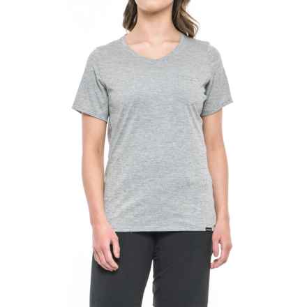DaKine Roslyn Cycling Jersey - V-Neck, Short Sleeve (For Women) in Heathered Tracks - Closeouts