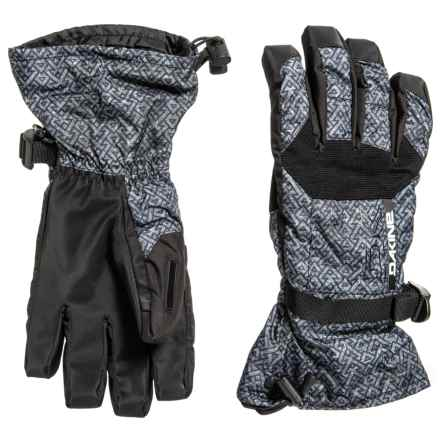 DaKine Scout 3-in-1 Gloves - Waterproof, Insulated (For Men) in Stacked - Closeouts
