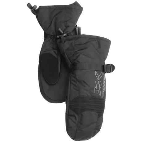 DaKine Scout Mittens - Waterproof, Insulated (For Men) in Black