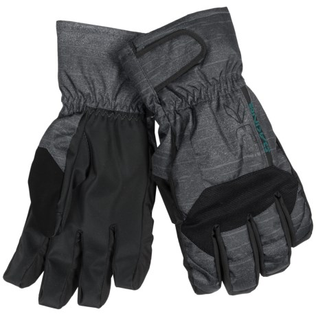 DaKine Scout Short Gloves - Waterproof, Insulated, Removable Liner (For Men) in Black
