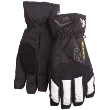DaKine Scout Short Gloves - Waterproof, Insulated, Removable Liner (For Men) in Rasta - Closeouts